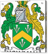 Howman Coat Of Arms Irish Acrylic Print
