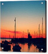 Howth Sunset Acrylic Print
