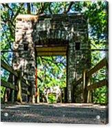 Hoyt Park Bridge Acrylic Print