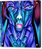 H.r. Giger Inspired D Acrylic Print