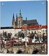 Hradcany - Prague Castle Acrylic Print