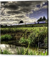 Hst In The Culm Valley  Acrylic Print