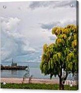 Hua Hin Harbour Acrylic Print