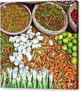 Hua Hin Market 03 Acrylic Print