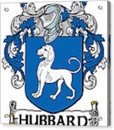 Hubbard Coat Of Arms Cork Ireland Acrylic Print