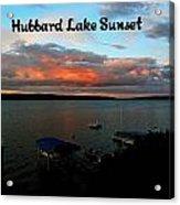 Hubbard Lake Acrylic Print