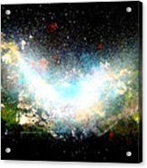 Hubble Birth Of A Galaxy Acrylic Print
