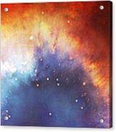 Hubble - Helix Nebula Comet - Like Filaments Acrylic Print