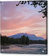 Hudson Bay Mountain British Columbia Acrylic Print