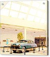 Hudson Car Under Skylight Acrylic Print by Design Turnpike