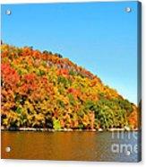 Hudson River Fall Foliage Acrylic Print