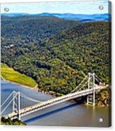 Bear Mountain Bridge Acrylic Print