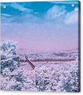 Hudson Valley Landscape Acrylic Print