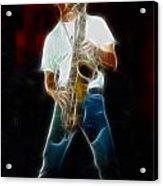Huey Lewis--johnny-ge2a-fractal Acrylic Print