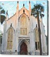 Huguenot Church Acrylic Print