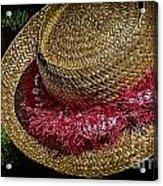 Hula Hats 5 Acrylic Print