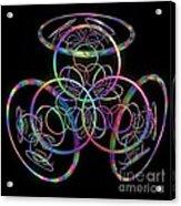 Hula Hoops Acrylic Print