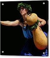 Hula O Molokai Acrylic Print