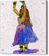 Hula Series Melika Acrylic Print