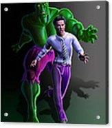 Hulk - Bruce Alter Ego Acrylic Print