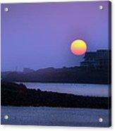 Hull Of A Sunrise Acrylic Print
