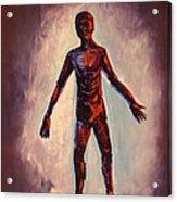 Humanoid Acrylic Print by Dayna Reed