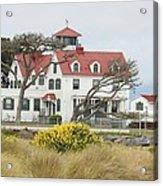 Humboldt Bay Coast Guard Station Acrylic Print