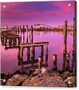Humboldt Twilight Glow Acrylic Print