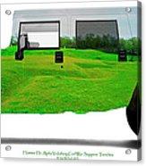 Hummer H1 Alpha Vicksburg Sappers Trench Acrylic Print