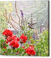 Hummer Shower Acrylic Print