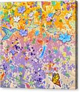 Hummingbird Spring Acrylic Print