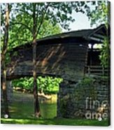 Humpback Covered Bridge 2 Acrylic Print