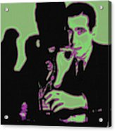 Humphrey Bogart And The Maltese Falcon 20130323 Square Acrylic Print