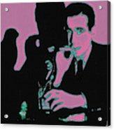 Humphrey Bogart And The Maltese Falcon 20130323m138 Square Acrylic Print