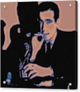 Humphrey Bogart And The Maltese Falcon 20130323m88 Acrylic Print by Wingsdomain Art and Photography