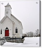 Humphreys Chapel Acrylic Print