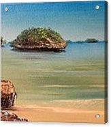 Hundred Islands In Philippines Acrylic Print