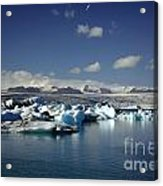 Hundreds Of Icebergs Acrylic Print