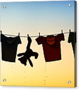 Hung Out To Dry Acrylic Print by Tim Gainey