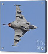 Hungarian Air Force Saab Jas-39 Gripen Acrylic Print