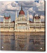 Hungarian Parliament Budapest Acrylic Print