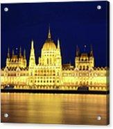Hungarian Parliament Building, Budapest Acrylic Print