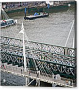 Hungerford Bridge Acrylic Print