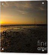 Hunstanton Sunset Acrylic Print