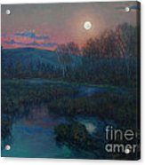 Hunter's Moon Rising Acrylic Print