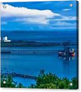Hunterston Deep Water Terminal Ayrshire Acrylic Print