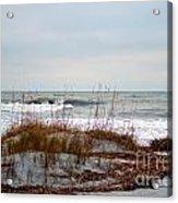 Hunting Island Beach Acrylic Print