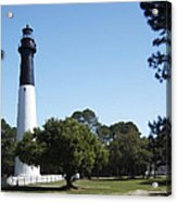 Hunting Island Lighthouse Sc Acrylic Print