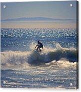 Huntington Beach California Surfer Acrylic Print
