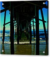 Huntington Beach Pier Acrylic Print